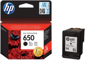 tusz HP 650 czarny